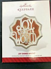 MAGIC Keepsake Ornament HALLMARK 2014 Joy Shines Bright NIB