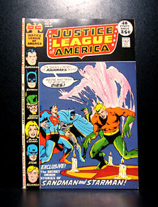COMICS-DC-Justice-League-of-America-94-1971-1st-Merlyn-the-Archer-RARE
