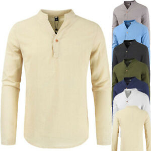 Mens-Polo-T-Shirt-Brave-Soul-Lincoln-Long-Sleeve-Shirts-Cotton-Pique-Casual-Tops