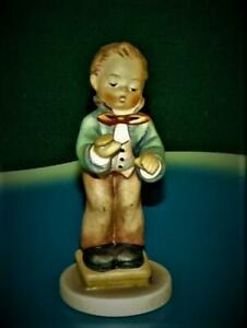 Vintage-1985-HUMMEL-Goebel-TMK5-BAND-LEADER-Miniature-129-4-0-MIB-w