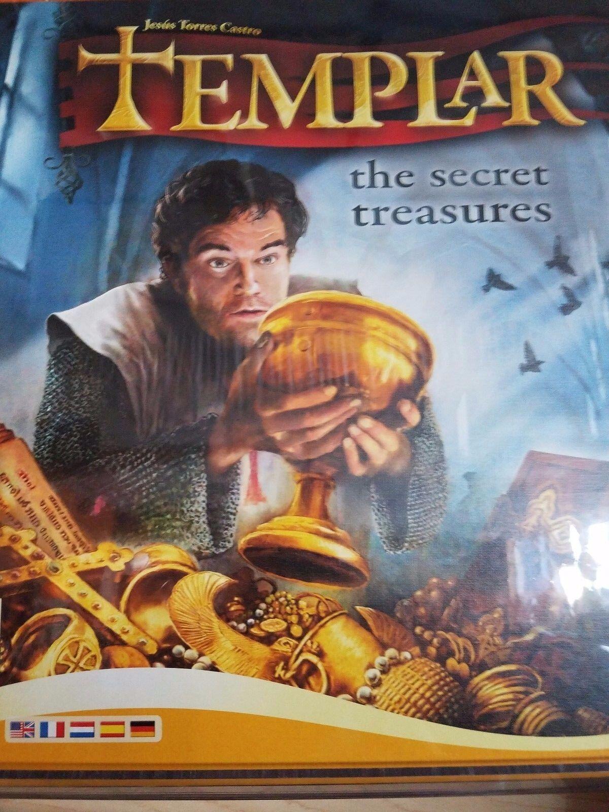 Templier  le Secret Treasures-Queen Games Jeu de plateau NEUF