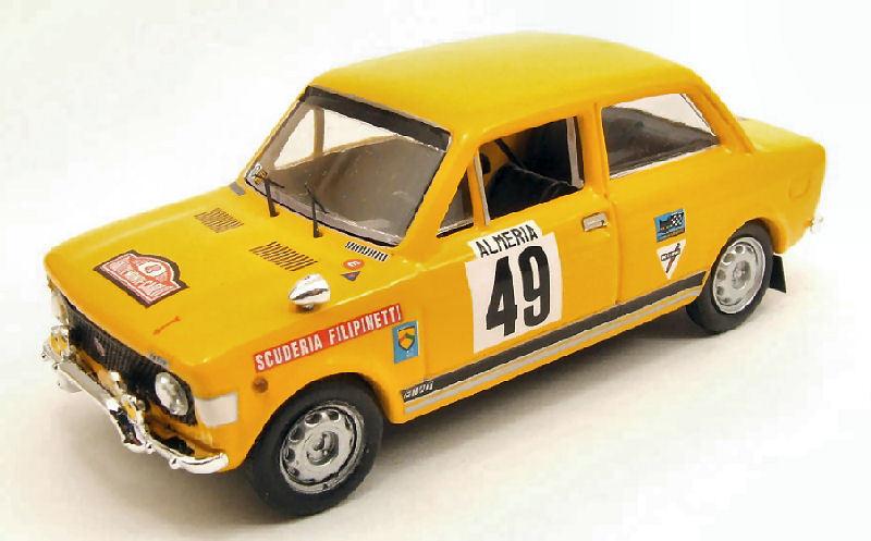 de moda Fiat 128 rally  49 49 49 Monte Cochelo 1972 1 43 Model rio4230 río  respuestas rápidas