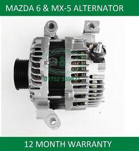MAZDA-MX-5-MK3-1-8-2-0-ALTERNATOR-L3P9-18-300A-L3P9-18-300B-L3P9-18-300C