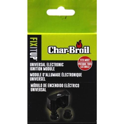 Char-Broil Electronic Ignition Kit Universal Grill Spark Module Fit Part Replace