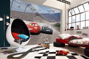 Giant Wallpaper 368x254cm Cars 3 Disney Kids Boys Bedroom Wall Mural