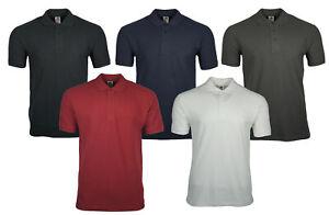 FRUIT-OF-THE-LOOM-Herren-Poloshirt-Polo-Shirt-Polokragen