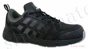 con donna Scarpe Nero Leggero Ultra Stivali da acciaio ginnastica lavoro puntale da grigio acciaio Scarpe Z in da in rrwA8q5