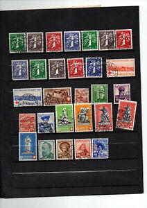 29-timbres-de-Suisse-du-no-329-a-357
