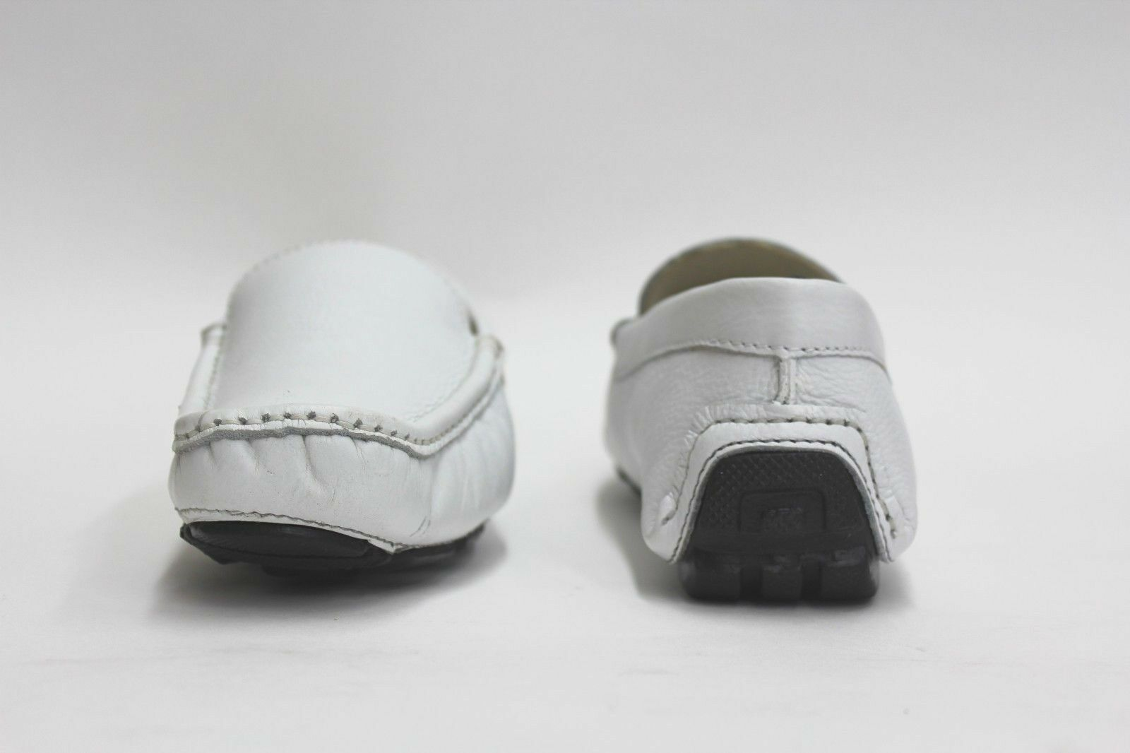 VINTAGE 2012 GIORGIO BRUTINI LE GLOVE LOAFERS 688816 WHITE (msrp: $80) $80) (msrp: 456a5b