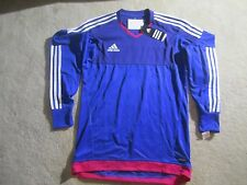BNWT Adidas Adizero Top 15  Goalkeeper Soccer Jersey Size S (REMOVABLE PADS)