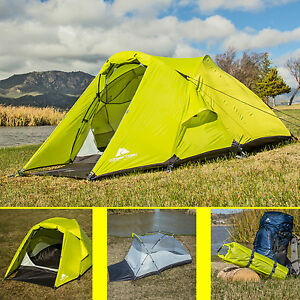 Image is loading Ozark-Trail-2-Person-Waterproof-Backpacking-Tent-C&ing- : ozark 2 person tent - memphite.com