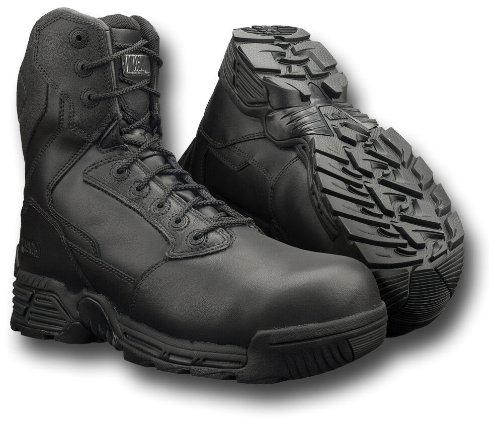 MAGNUM 8.0 STEALTH FORCE LEATHER BOOTS COMPOSITE TOE