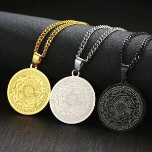 Necklace-The-Seals-Of-The-Seven-Archangels-Sigil-Pendant-Haniel-Michael-Gabriel