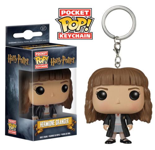 """Harry Potter-Hermione Granger 2 /""""bolsillo Pop Llavero Figura De Vinilo Funko"""