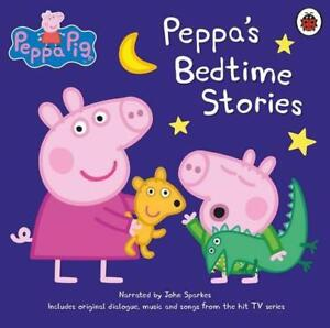Peppa-Pig-Bedtime-Stories-by-Audio-CD-Book-9780241298022-NEW