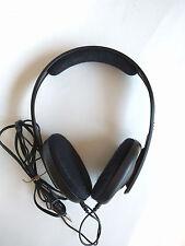 AS IS SENNHEISER HD 407 ON-EAR  HEADPHONES - BLACK NOT WORKING #893