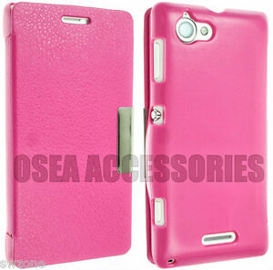 FOR-SONY-XPERIA-L-S36H-C2104-C2105-LEATHER-CASE-COVER-POUCH-FLIP-WALLET-BACK-S36