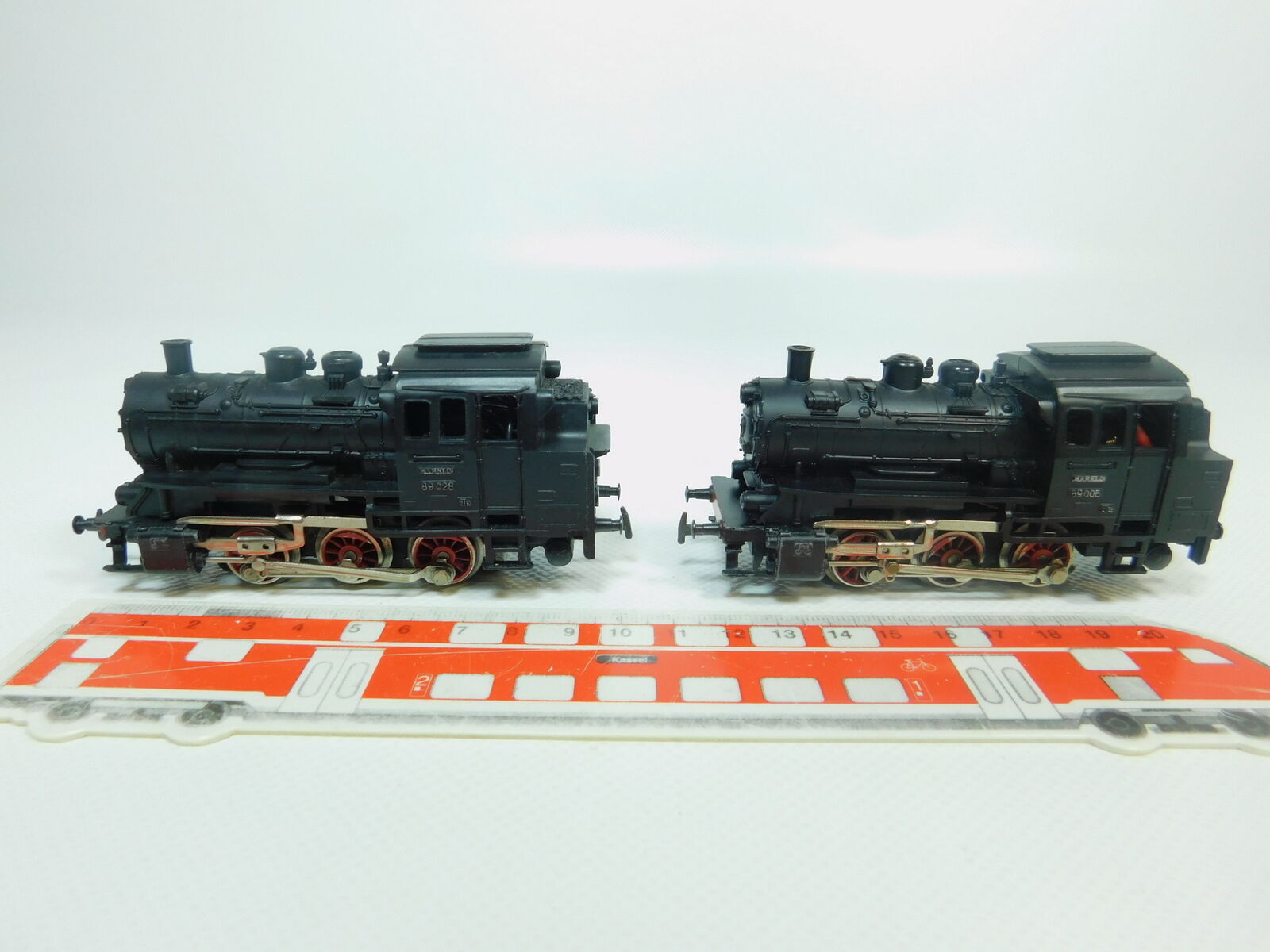 BP529-1 x Märklin H0   Ac 3000 Locomotive-Tender Locomotive à Vapeur Db   89