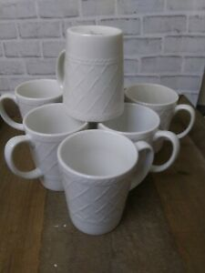 7-Totally-Today-LATTICE-Dinnerware-Mugs-Cups-Coffee-Tea-EXCELLENT-CONDITION