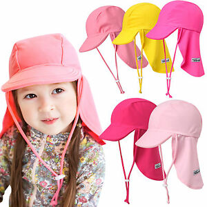 Vaenait-baby-Infant-Kids-Girls-Sun-Protection-Sporty-Flap-Swim-Hat-034-UV-Flap-Cap-034
