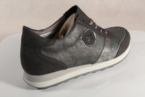 Grigiie Scarpe Da N1823 Basse Donna Con Nuovo Sneaker Lacci Rieker Pw8WIq55