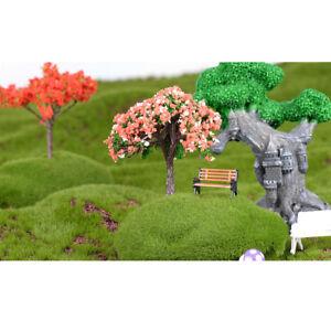 5Pcs Owls Miniature Mini Resin Home Garden Succulent Bonsai Craft Fairy Decor
