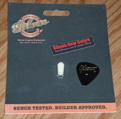 Gibson Les Paul Switch Tip Set Historic Toggle Cap Knob 2 Guitar Parts R9 R8 R7