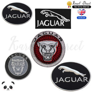 Jaguar-brand-logo-Embroidered-Iron-On-Sew-On-Patch-Badge-For-Clothes-etc