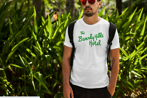 80s THE BEVERLY HILLS HOTEL T-Shirt Funny Cotton Tee Vintage Gift For Men Women