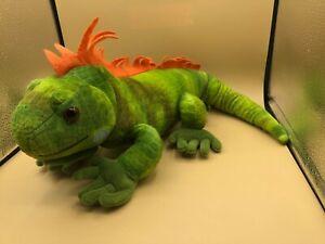 Wild-Republic-Iguana-Green-Lizard-Plush-Kids-Soft-Stuffed-Animal-Toy-Doll-2012