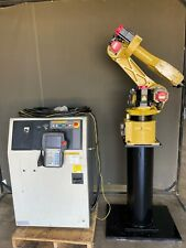 Fanuc M 6ib With R J3ib Robot Complete System Package With Stand