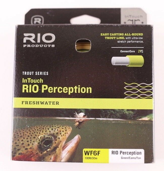 Rio InTouch RIO Perception WF6F Fly Line Free Expedited Shipping 620454