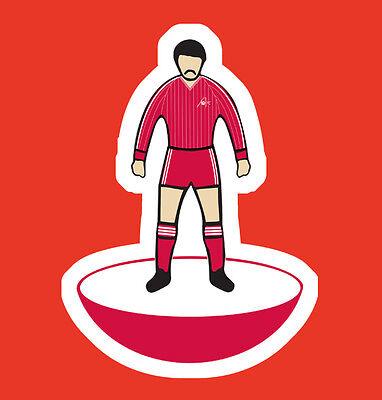 Aberdeen Willie Miller Subbuteo Style Cult Football Figure T-Shirt