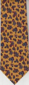 Henry-Bucks-Melbourne-Authentic-100-Silk-Tie-Made-In-Italy-HB4-Men-039-s-Tie