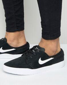 meet c8e76 411d6 Image is loading Nike-SB-Stefan-Janoski-Hyperfeel-in-Black-White-