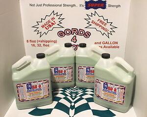 GORD-039-S-Aluminum-Chrome-Stainless-Copper-Brass-Cleaner-Polish-Sealer-CASE-4-GAL