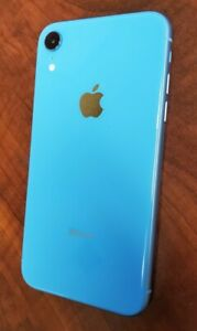 Apple-iPhone-XR-128GB-Blue-AT-amp-T-A1984-CDMA-GSM-MT092LL-A-Used