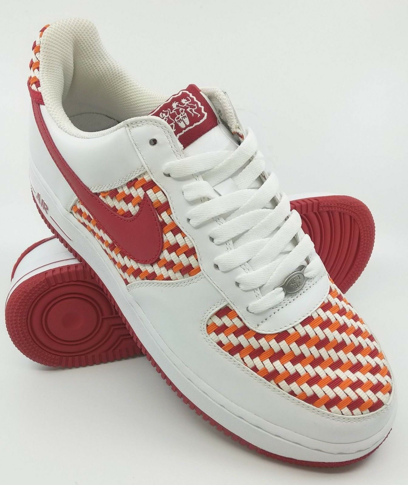 2005 2005 2005 NIKE AIR FORCE 1 LOW PM ISLAND PACK WOVEN FRUITY PEBBLES SAMPLE 9 US RARE ec3661