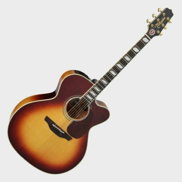 Takamine Toby Keith Ef250tk Signature Acoustic Electric Guitar Sunburst For Sale Online Ebay