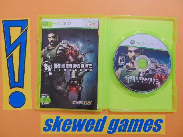 Bionic Commando - cib - XBox 360 Microsoft