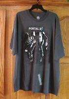Jinx Dark Gray Portal 2 Atlas And Peabody Video Game T-shirt Size 2x Xxl