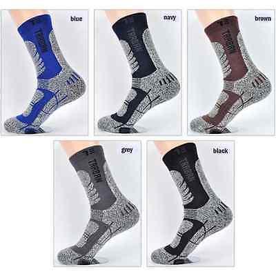 Traban Mens Winter Athletic Long Sports Socks, Outdoor, Hiking, Cycling Korea