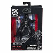 Star Wars The Black Series 40th Anniversary Titanium Series Darth Vader Figure