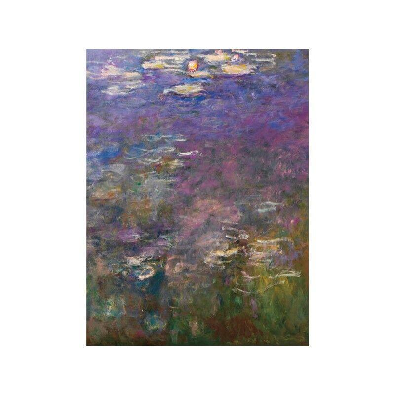 Quadro su Pannello in Legno MDF Claude Claude Claude Monet Water Lilies III | Que Nos Produits Vont Dans Le Monde  | Authentique  | élégante  5161e9
