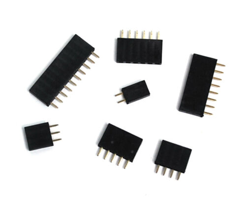 50pc Pin Female Header Pitch= 2.54mm H=8.5mm Straight type 1x2p 1x2 2p RoHS