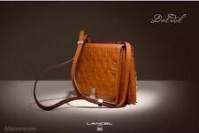 NWOT LANCEL Dali DALIDOL Daligramme Embossed Leather Crossbody Shoulder Handbag
