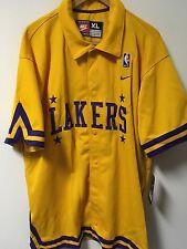 NWT Men's NIKE Los Angeles Lakers NBA Rewind 1957 Shooting Jacket Size XL *READ
