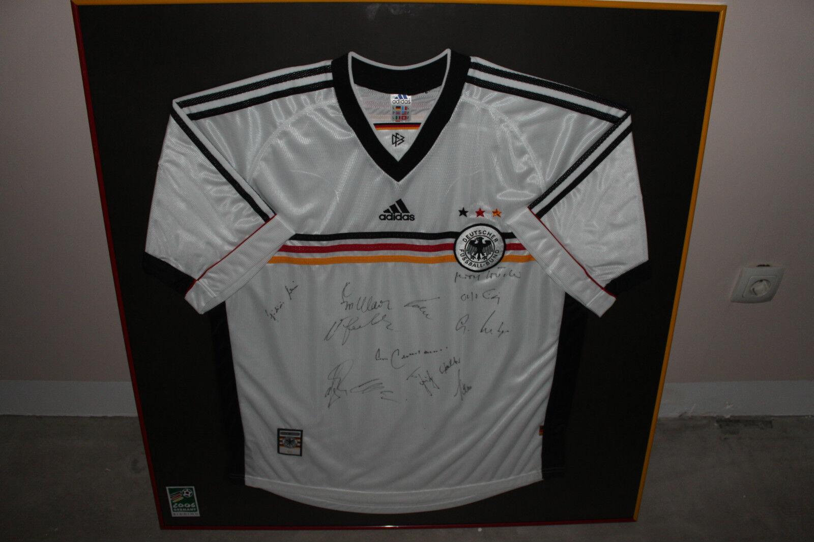 Sponsorentrikot WM 2006 für Verbände National und International mit Rahmen