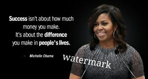 """FAMOUS PRESIDENT QUOTE OBAMA /""""GET UP DO SOMETHING IF HOPELESS/"""" PUBLICITY PHOTO"""