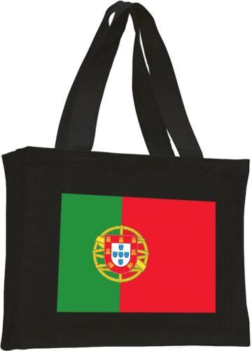 Choice of Colours Portugal Flag Cotton Shopping Bag